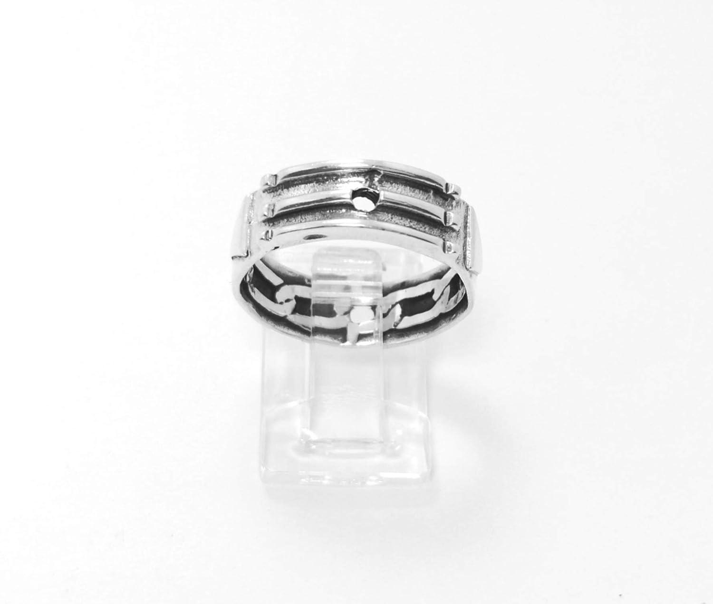 ejemplo de anillo atlante de plata