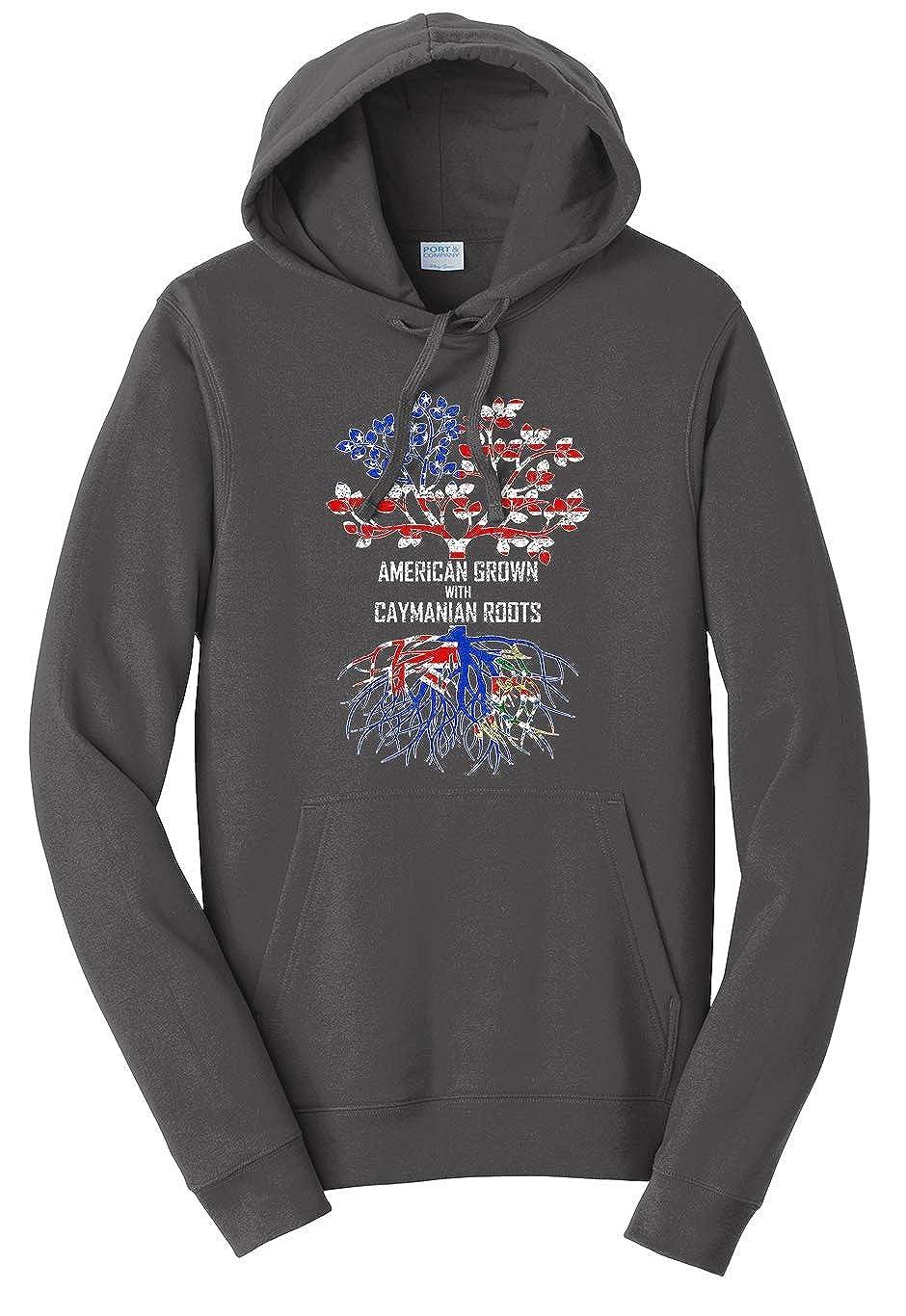 Tenacitee Unisex American Grown with Caymanian Roots Sweatshirt