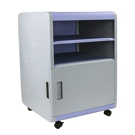 cajonera de oficina, archivador con cajones de ABS cajones de almacenamiento de plástico para oficina