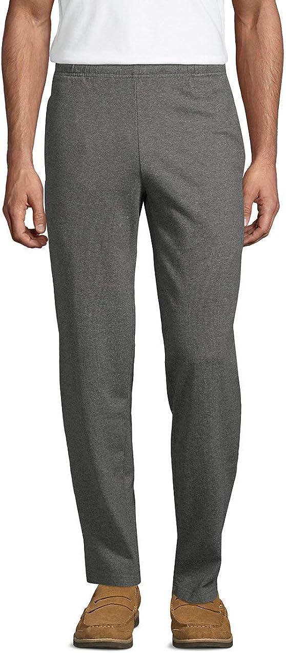 Lands End Mens Jersey Knit Pants