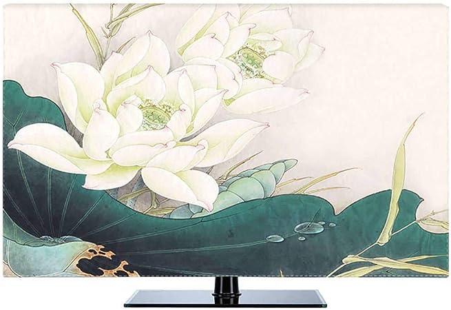 HBLZG Funda para Monitor Cubierta de poliéster 22-80 Pulgadas Anti estático Panel LCD/LED/HD Pantalla de Caso de Pantalla Manga Protectora PC Compatible, computadora de Escritorio y TV-37Pulgada-G: Amazon.es: Hogar