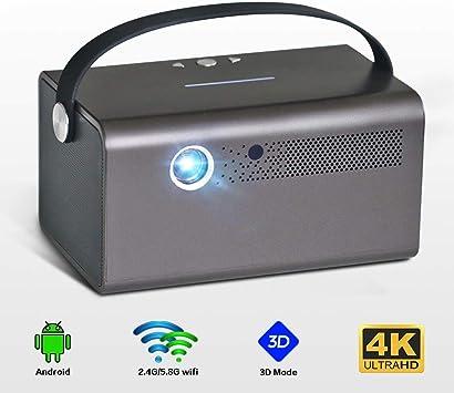 ALRY Proyector Inteligente Proyector Láser Full HD Dolby DLP con ...