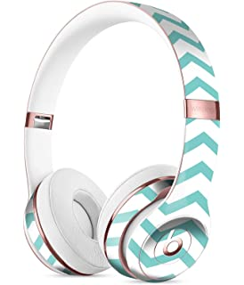 3b00b2457ae Teal and White Jagged Chevron DesignSkinz Full-Body Skin Kit for The Beats  by DRE