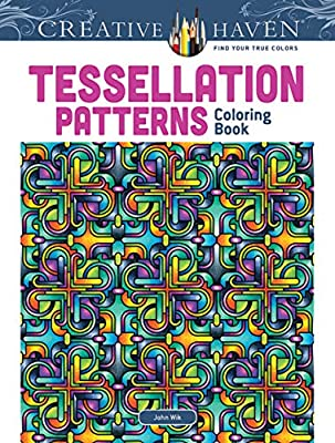 Amazon.com: Dover Creative Haven Tessellation Patterns Coloring Book ...