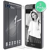 Huawei Honor 6C / Huawei Nova Smart Pellicola Protettiva, LK [2 Pack] Protezione Schermo Vetro Temperato Screen Protector [Garanzia di Sostituzione a Vita]