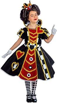 Disfraz de Reina de Corazones para niña: Amazon.es: Juguetes y ...