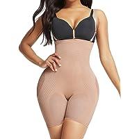 SHER Women Seamless Shapewear Tummy Control Hi-Waist Bodysuit Butt Lifter Firm Control Body Shaper