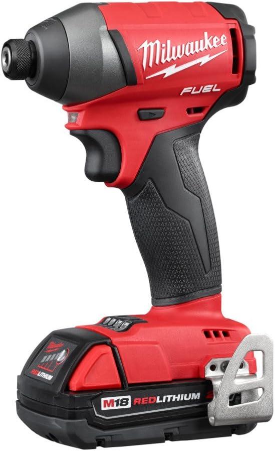 Milwaukee 2753-22CT M18 FUEL Cordless Li-Ion 1 4 Hex Impact Driver Tool Kit