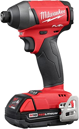 Milwaukee 2753-22CT M18 FUEL Cordless Li-Ion 1 4 Hex Impact Driver Tool Kit