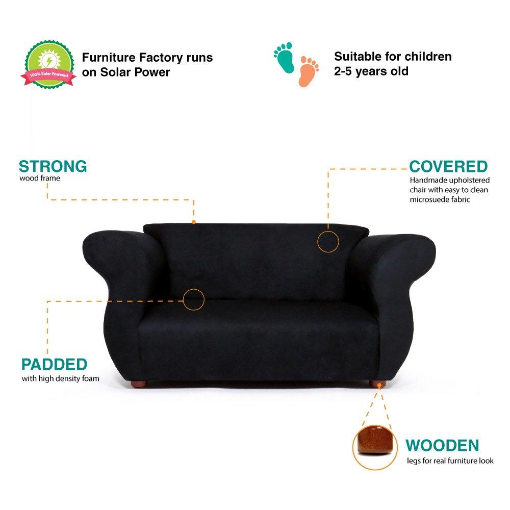 Awesome Keet Fancy Kids Sofa Black Bralicious Painted Fabric Chair Ideas Braliciousco