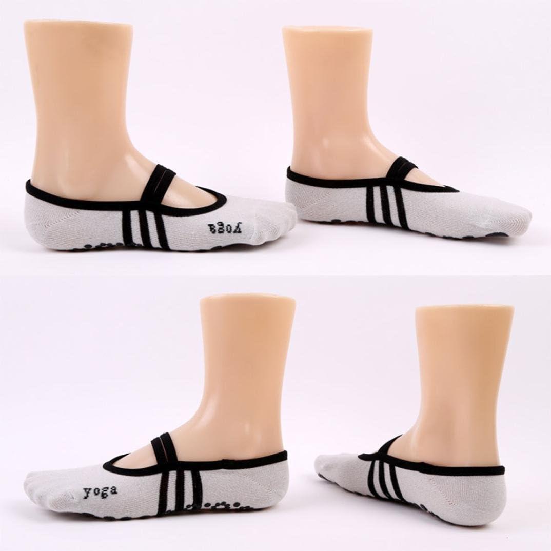 /Best Fitness//Danza//Pilates//Calcetines de Ballet Gaddrt Antideslizantes Calcetines de Lunares de Las Mujeres Yoga Calcetines/