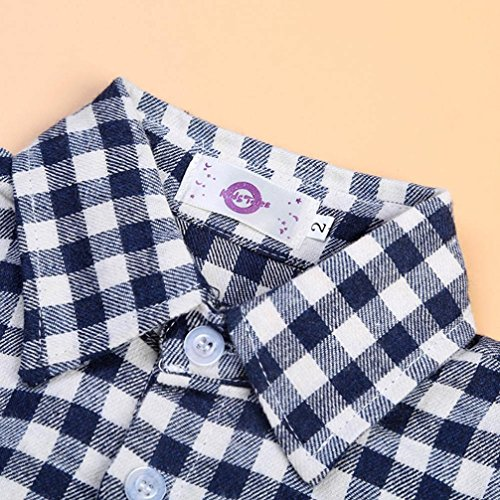 Baby Boy's Clothes, Mchoice 1Set Kids Boys Business Suit+Shirt Tops+Trousers Children Clothes Outfits (6~7 Years old, Black) by MChoice (Image #6)