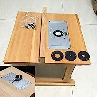 Máquina de aparar placa de inserção de mesa prática para marcenaria, carpinteiro, peças de ferramentas elétricas…