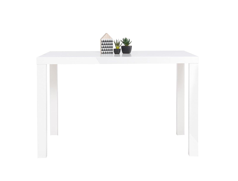 Esstisch - Küchentisch 80-160 cm (4 Größen, 2 Farben) Weiß ...