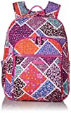 Vera Bradley Women's Iconic Deluxe Campus Backpack, Modern Medley