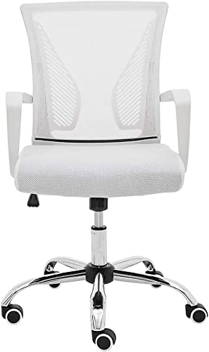Modern Home ZUNA-WHWHITE Office Chair