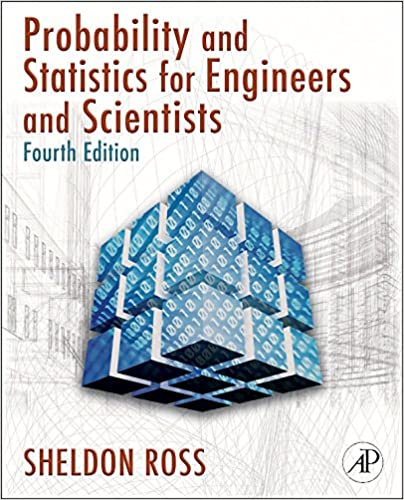 Introduction to probability and statistics for engineers and introduction to probability and statistics for engineers and scientists 4 sheldon m ross amazon fandeluxe Choice Image
