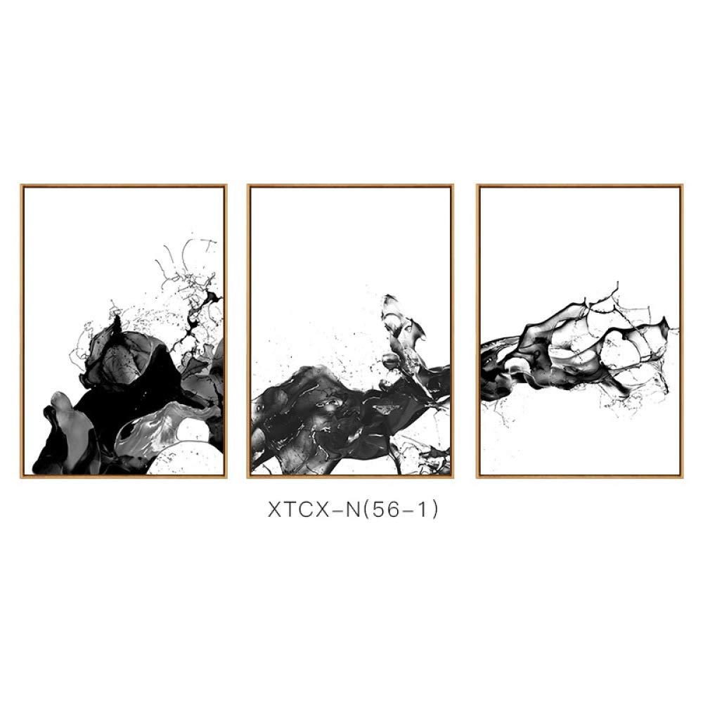 CWJ Pintura Abstracta de la Acuarela de la Tinta del chapoteo del Modelo, Pintura de la decoración de la Pared de la Sala de Estar, Pintura del Marco,A,40  60