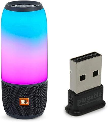 Black JBL Pulse 3 Portable Waterproof Bluetooth Speaker