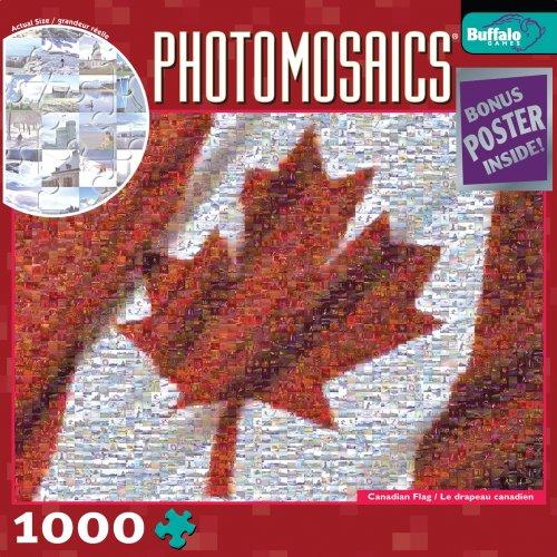 Mosaic Maple Leaf (Buffalo Games Photomosaic: Canadian)