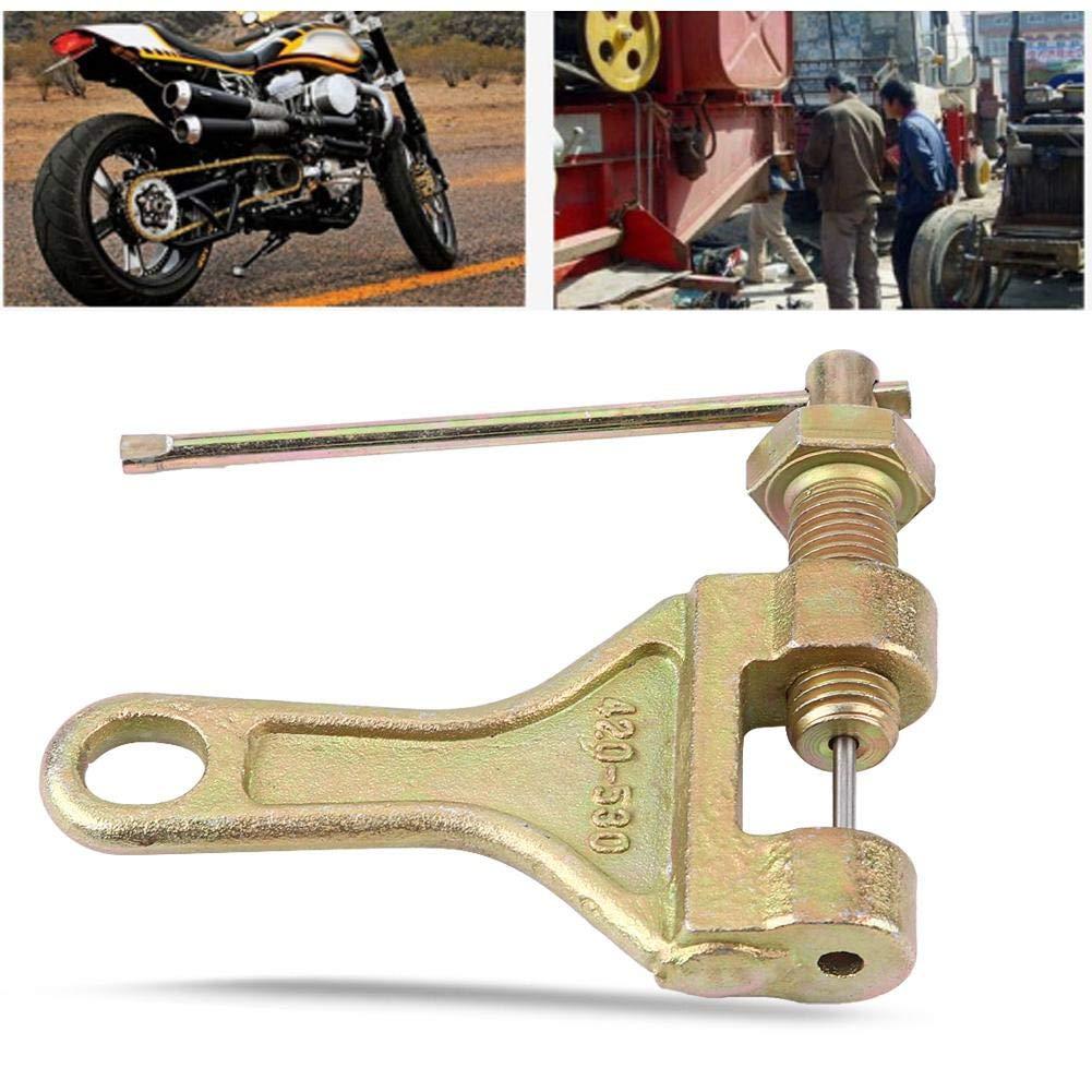 EBTOOLS Attrezzo per catena del motociclo attrezzo di riparazione del collegamento del taglierino della taglierina dellazionatore di rimozione della catena per il motociclo ATV della bici,420-530