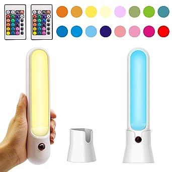 Honwell Aa Télécommande 16 Lampe Piles Dressing Lampes Couleurs Lumièrse Par À Placard Murale De Led Applique Bar Du Alimentée CrBedxo