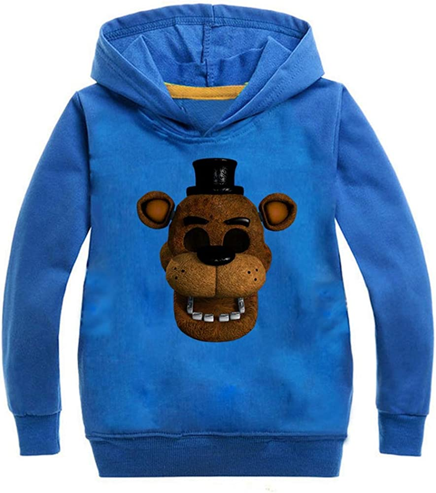 Hoodies Five Nights at Freddys Boy Child Hight 90-160cm Black Blue