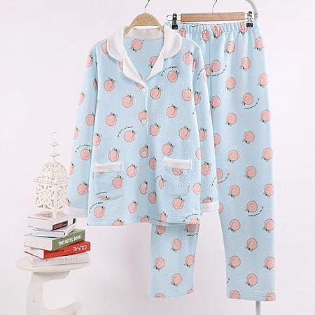 ABMBERTL Pijama Kawaii jugoso Pijama de melocotón Establece ...