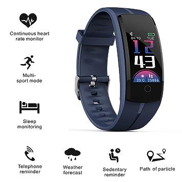 ZEERKEER Smartwatch Pulsera Actividad Impermeable IP67 con 9 ...