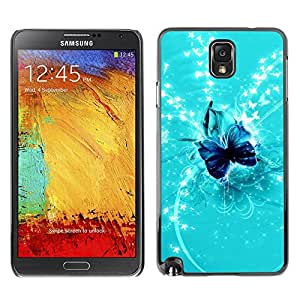 Smartphone Rígido Protección única Imagen Carcasa Funda Tapa Skin Case Para Samsung Note 3 N9000 N9002 N9005 Nature Fish Friends / STRONG