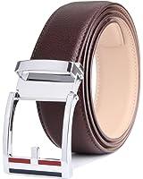 ベルト メンズ 革/レザー オートロック サイズ調整可能 紳士ベルト 男性用 0139