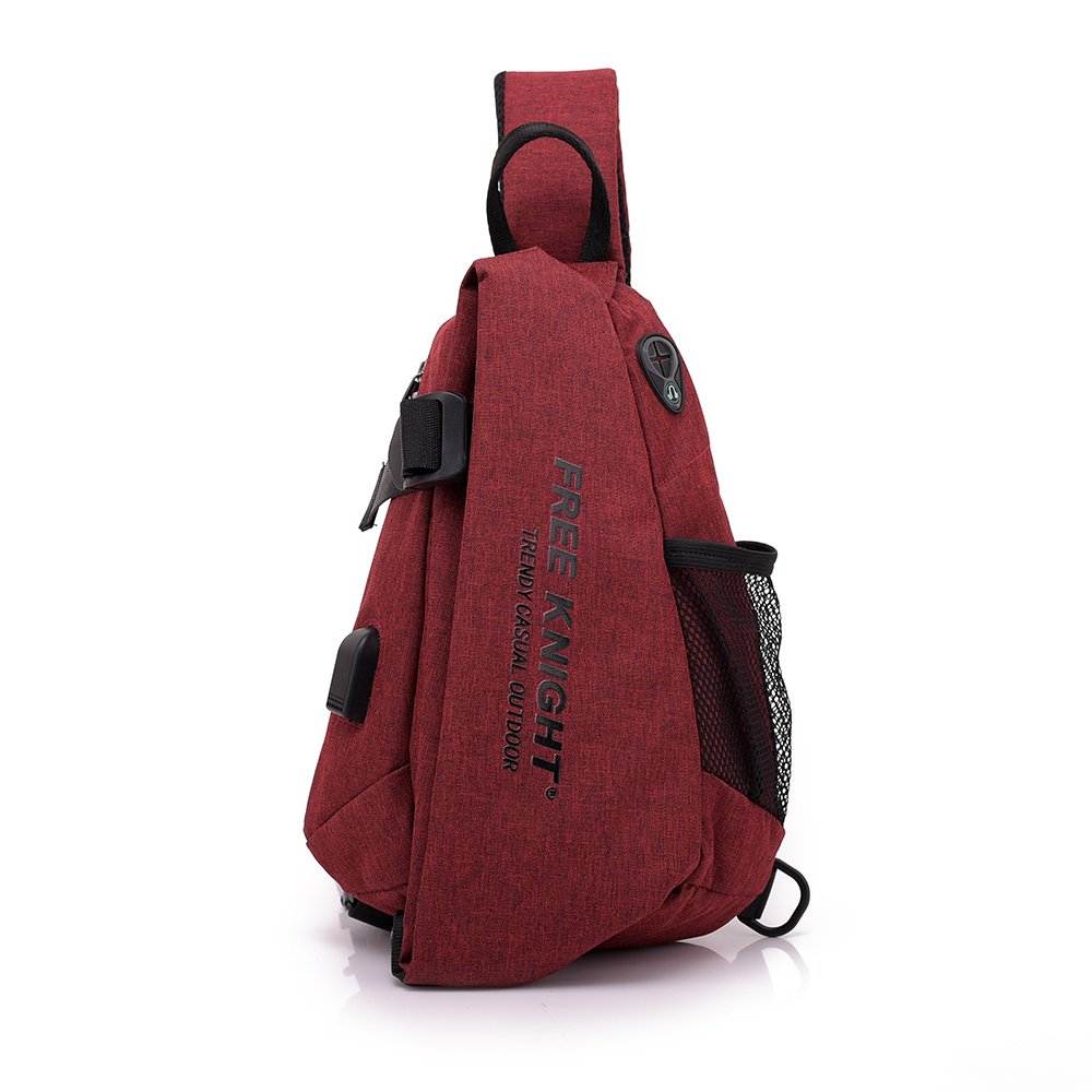 ad6b5cd52 Sling Bag- Chest Shoulder Rope Backpack for Man and Women