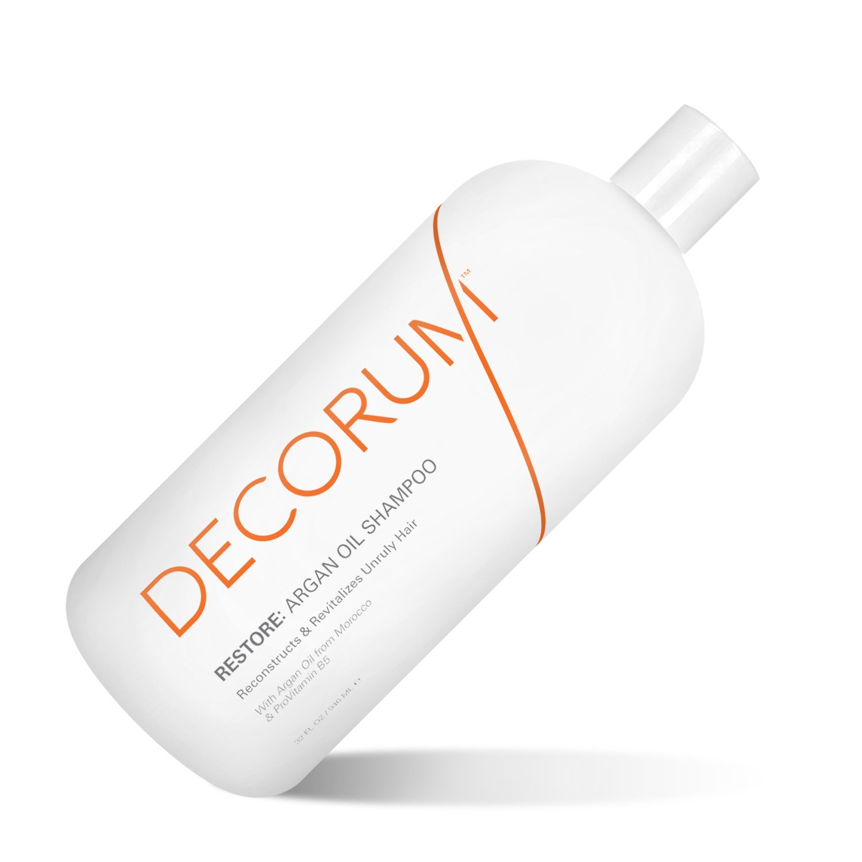 DECORUM Restore Argan Oil Shampoo, 32 Ounce