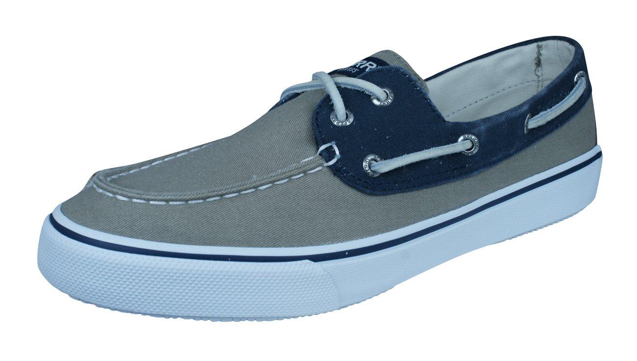 Sperry Bahama - Zapatillas de lona para hombre 44.5 EU Taupe