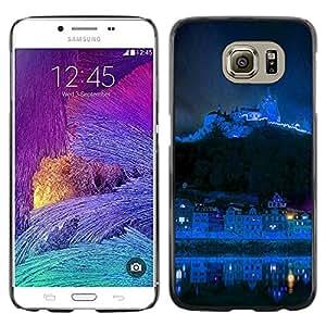 Be Good Phone Accessory // Dura Cáscara cubierta Protectora Caso Carcasa Funda de Protección para Samsung Galaxy S6 SM-G920 // Blue Mountain City