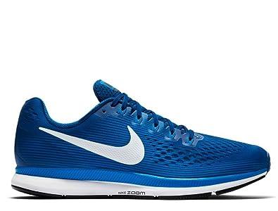 b74bac153af Nike Air Zoom Pegasus 34 Mens Running Trainers 880555 Sneakers Shoes (UK 8  US 9 EU 42.5, Gym Blue sail 410)