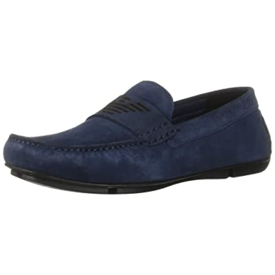Emporio Armani Men's Logo Penny Loafer | Loafers & Slip-Ons