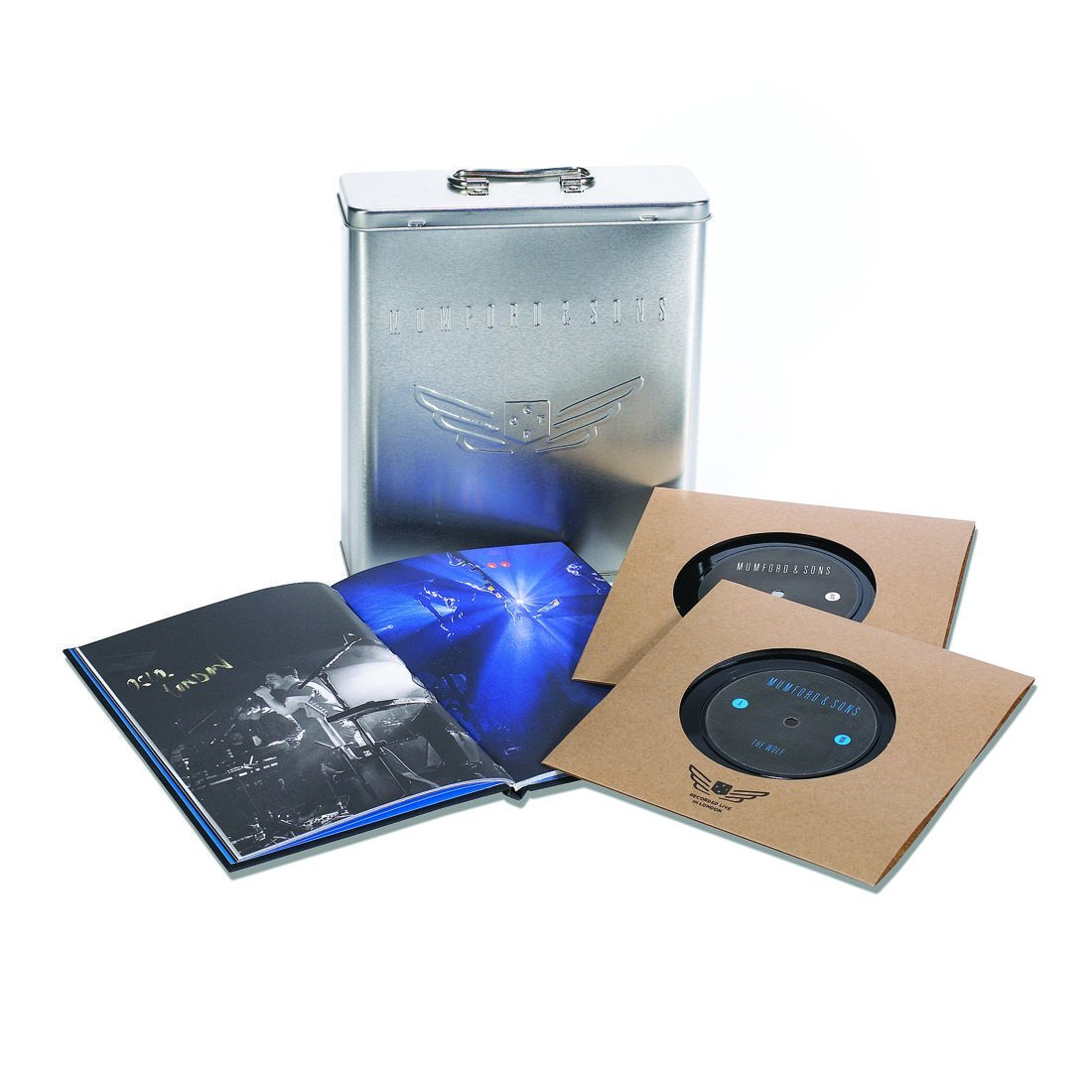 Vinilo : Mumford & Sons - Wilder Mind (Aluminum, Boxed Set, Collector's Edition, 5 Disc)