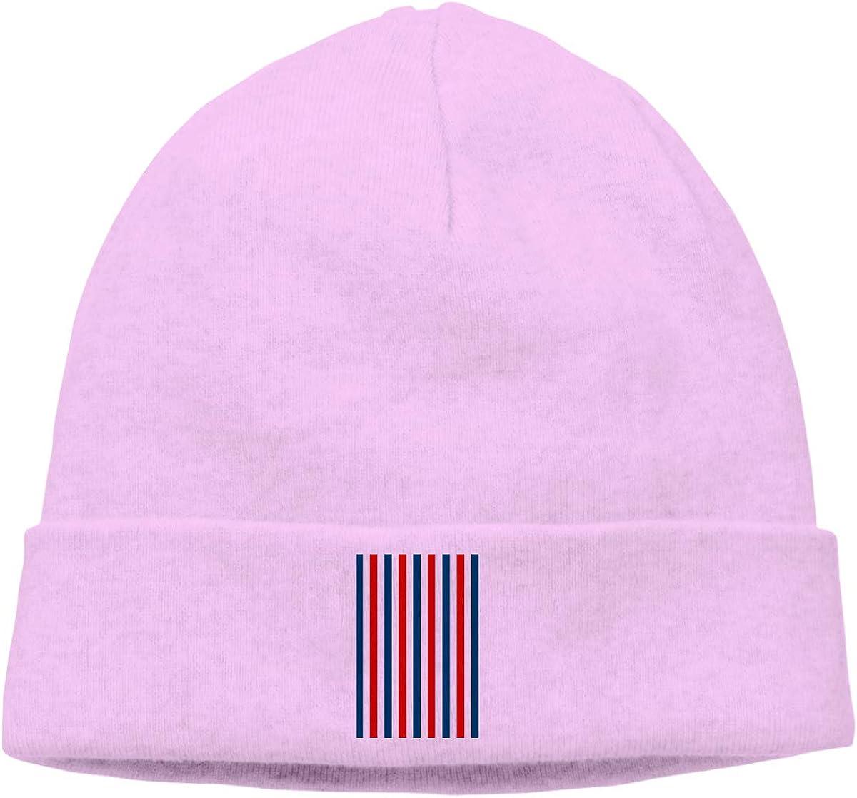 Cgi03T-2 Casual Woolen Cap for Unisex Stripes American Flag Stocking Cap