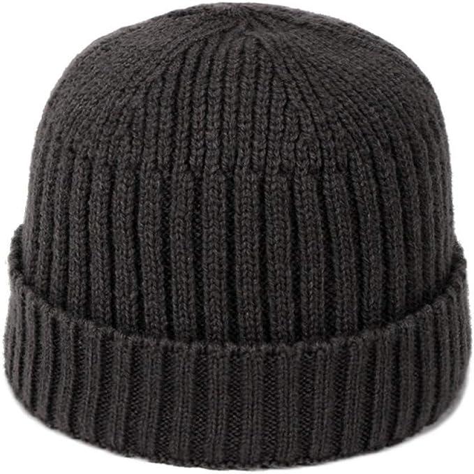 CGXBZA Bonnet Chaud F/éminin Doux en Acrylique avec Chapeaux dhiver en Tricot