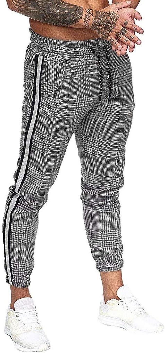 2020 Männer Jogger Hosen Fitness Gym Sportswear Bottoms Jogginghose Hose L~3XL