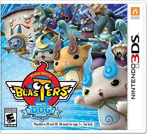 YO-KAI WATCH Blasters: White Dog Squad - Nintendo 3DS (Video Watch Dogs Game)