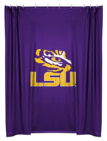 NCAA LSU Fightin Tigers Shower Curtain