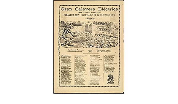 Amazon.com: Historic Photos Gran calavera eléctrica, que se les va a regalar, calavera muy fachosa de pura electricidad: Photographs