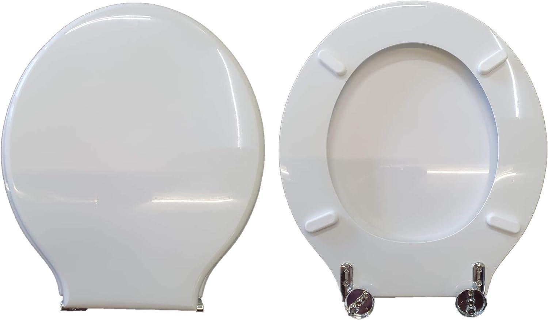 Copriwater NEOCLASSICA SBORDONI compatibile laccato bianco lucido poliestere