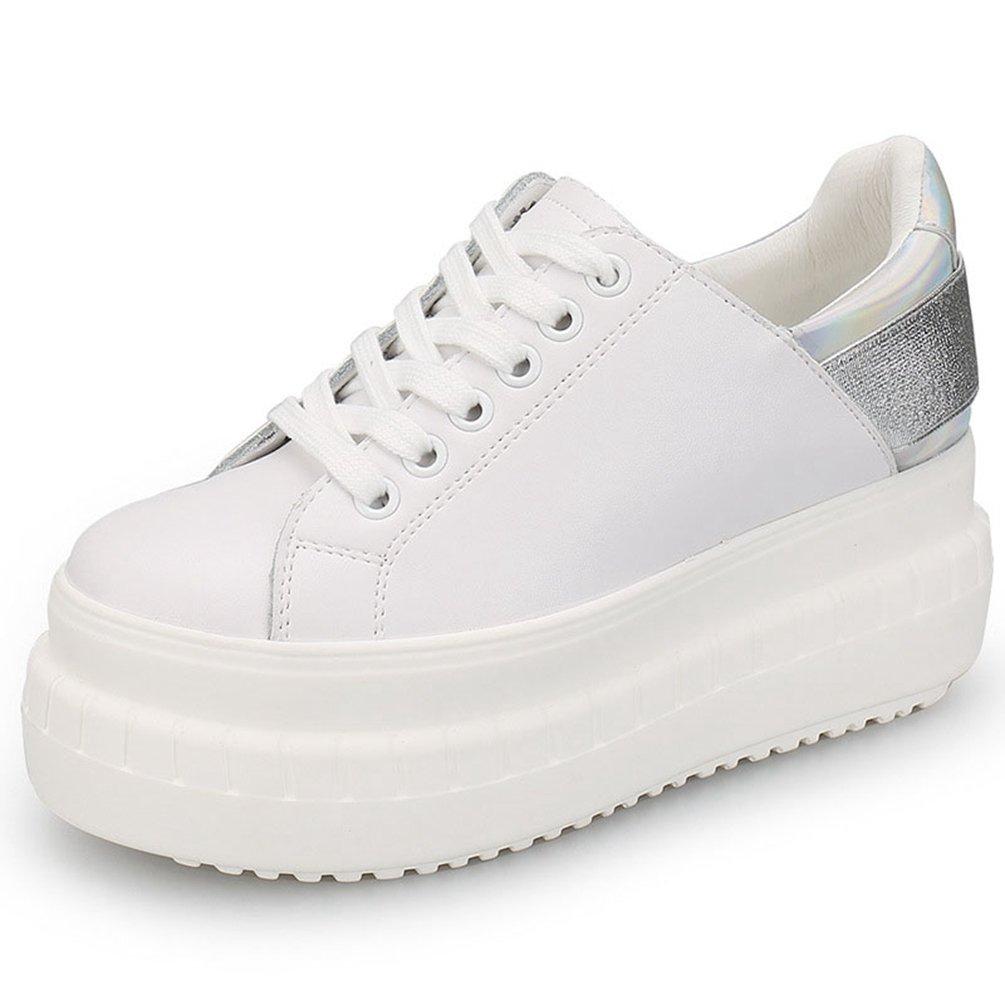 JRenok - Zapatillas Mujer 39 EU|9cm,Silber En línea Obtenga la mejor oferta barata de descuento más grande