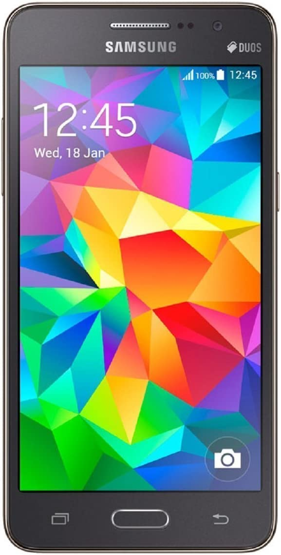 Samsung Galaxy Grand Prime Smartphone - Unlocked - Gray