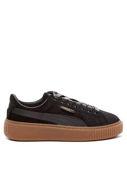 competitive price 4c521 f8f33 Puma Basket Platform Vs Trainers Black