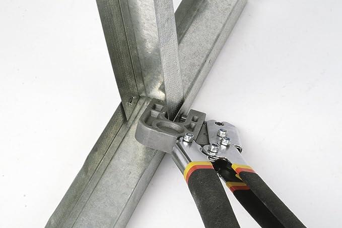 Elite 911204 - Crimpadora para metal (panel de yeso): Amazon.es: Bricolaje y herramientas