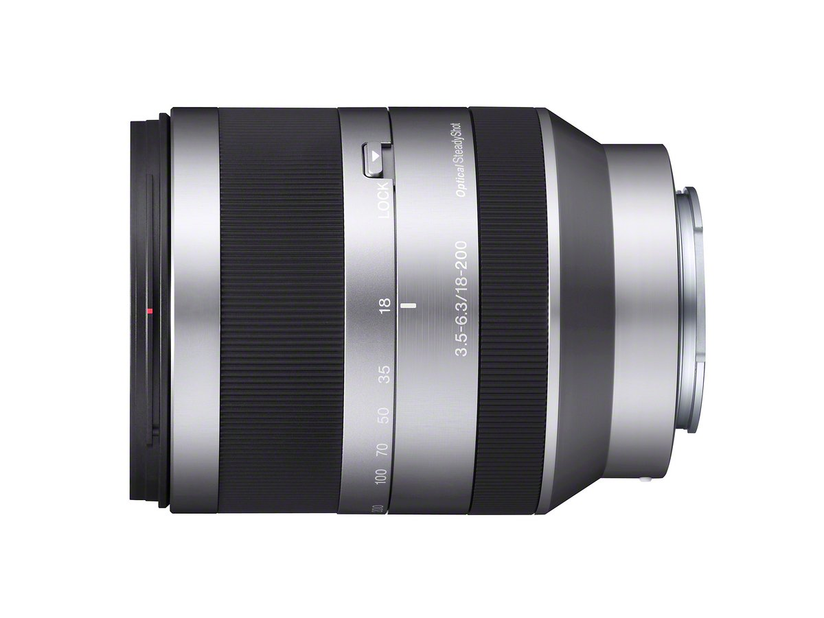 Sony Alpha Sel18200 E Mount 18 200mm F35 63 Oss Lens 6000 With Lensa 16 50 Mm F 35 56 Limited Silver Camera Lenses Photo